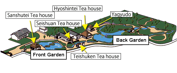 House Garden Map >> Guide To The Garden Isuien Garden